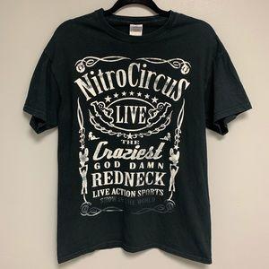 Nitro Circus LIVE Tee Shirt MEDIUM